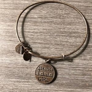 """Because I am a Girl"" Alex and ani"